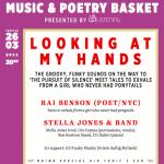Looking at my hands: Music & Poetry Basket