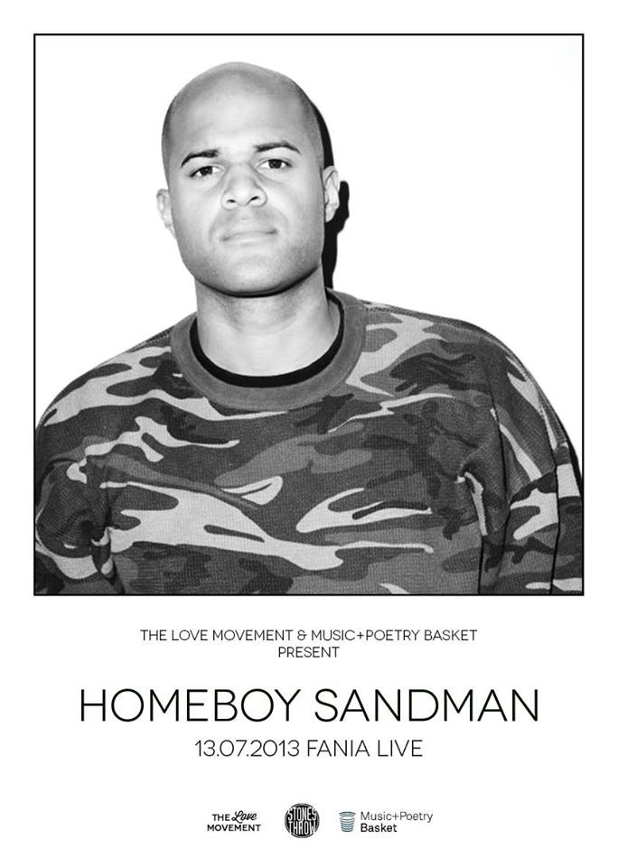 Homeboy Sandman Flyer