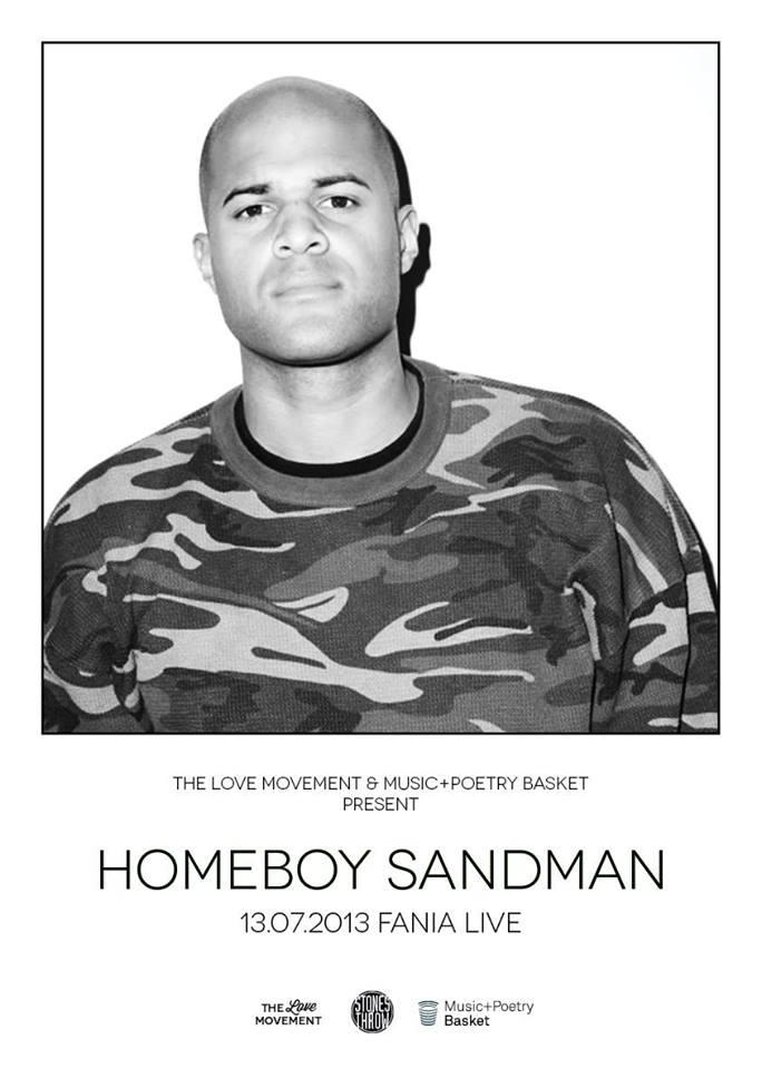 Homeboy Sandman Flyer